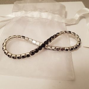 Swarovski Jewelry - Black swarovski bracelet